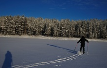 Hossa's frozen lakes crossings