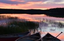 Randonnée dans le parc national d'Urho Kekkonen