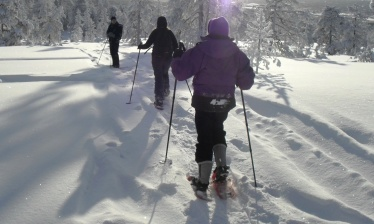 Self-guided nordic skiing adventure