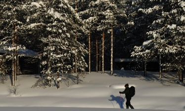 Self guided nordic skiing adventure