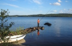 fishing in Hossa National Park