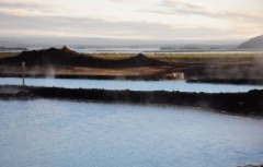 warm nature baths in Iceland with beautiful views